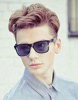 男生没有刘海的好看发型 没有刘海的男生发型