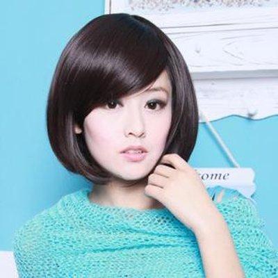女生剪短发不用烫也剪出来好看的 不用烫的女生短发