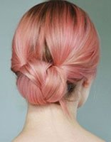 韩版女式最新流行发型如何盘发 直长发盘发发型
