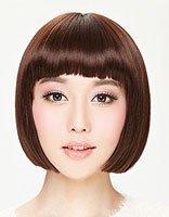 平刘海的齐耳短发 齐刘海短发如何打造