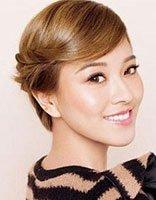 中年妇女发型短发怎样盘 中年妇女盘发发型图解