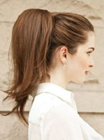 夏天无刘海直头发怎么扎好看 无刘海中长直发扎发