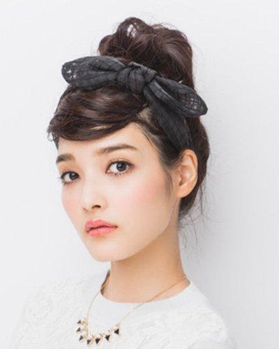自己能做的简单的盘发发型 各种发型图片DIY