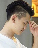 男人短发两侧加点什么标志好看 男生霸气清爽短发发型