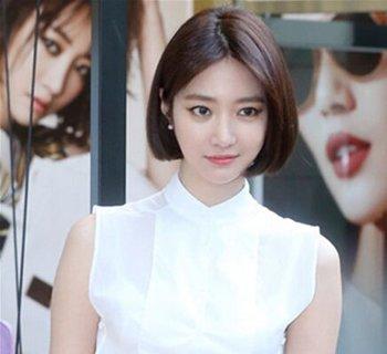 喜欢,短直发发型的款式可是很多的,韩式中短直发图片