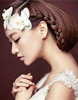 学习绑头发有女人味点瓜子脸绑什么样的发型好看呢 瓜子脸发型设计