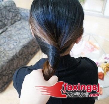 韩式实用扎发大全,最简单的发型美丽值得拥有(4)图片