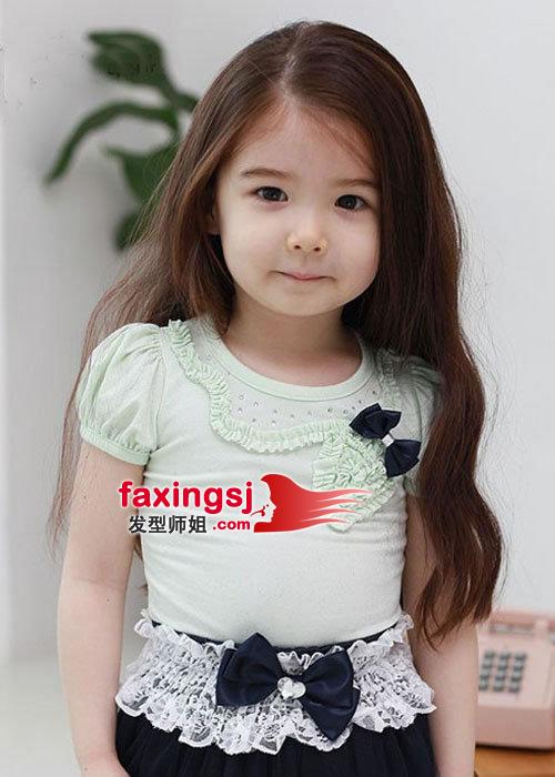 可爱小女孩长发发型图片欣赏(3)图片