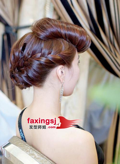 整洁的盘发发型设计 适合高贵旗袍的盘发发型 想要在最郑重的时刻