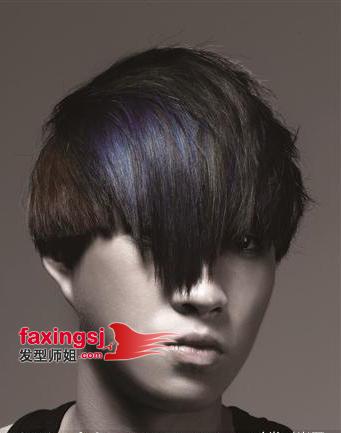 男生发型 >> 男生沙宣长发造型设计