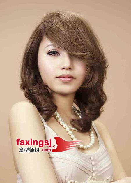 梨花头搭配什么刘海好看 刘海梨花头发型图片 发型师姐
