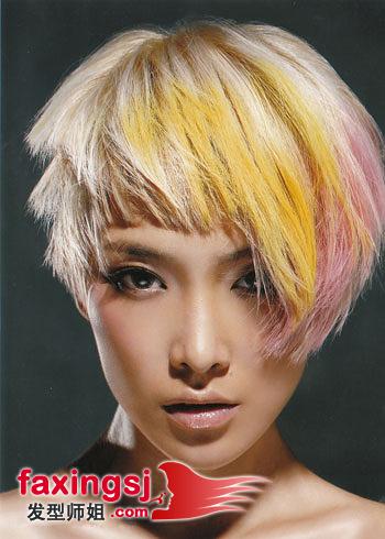 长脸女生蘑菇头发型图片
