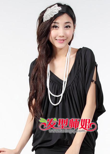 韩式最热最流行的长发烫发设计 2