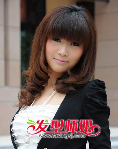 染色时尚梨花头发型图片(3)图片
