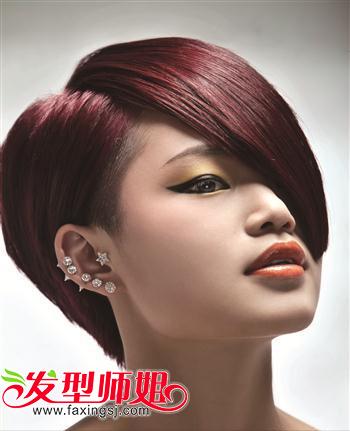 女生最新沙宣发型图片图片