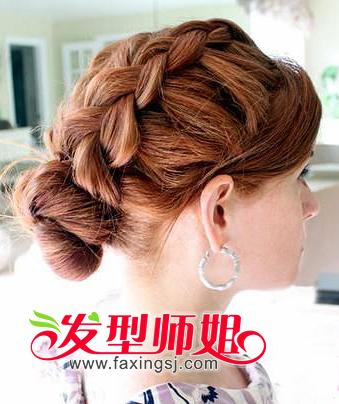 发型师姐编辑:yaoyao 分享到  韩式 蜈蚣辫发型的多种 编发 盘发的图片