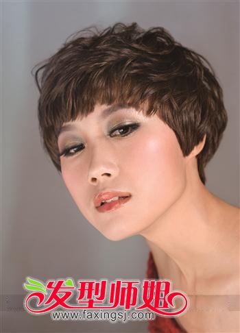 沙宣短烫发风尚图片_发型师姐图片