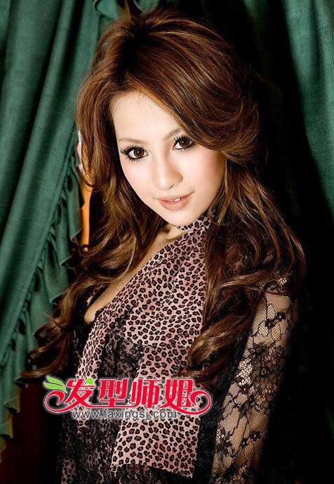 染发颜色-35岁女性适合发型图片