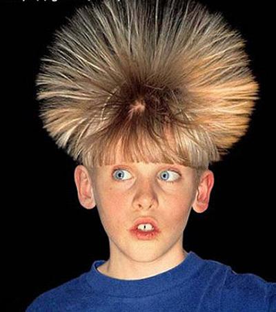 b>搞笑儿童发型欣赏 驱走你的沉闷心情 /b>