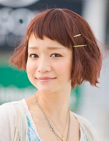 <b>最新眉上刘海发型 打造日系潮流chic</b>