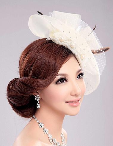 时尚新娘发型展动人魅力