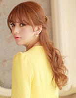 韩式半扎发发型 精致优雅温暖秋冬