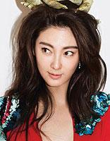 鬼马张雨绮杂志封面发型 尽显俏皮女人味