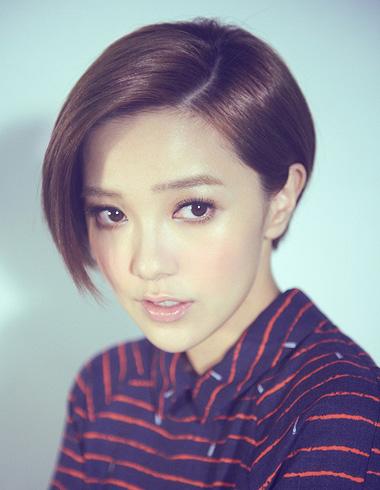 郭采洁短发发型集结 展现不同面的气质女生