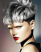 女生潮感中性短发发型 时尚个性修出冷感脸型