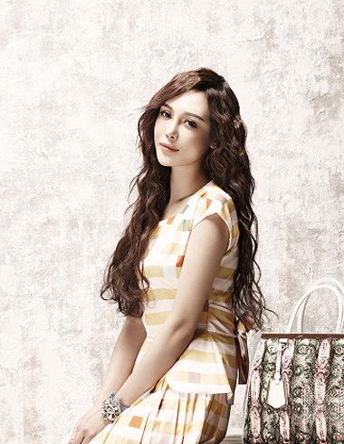 日韩女生长发蛋卷头 甜美优雅拥有时尚气质范