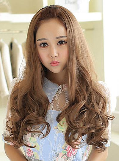 长卷发 长卷发发型图片 长卷发怎么扎好看 长卷发怎么打理 发型师姐图片