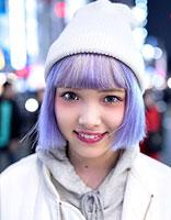 日系原宿短烫发发型 时尚潮感显现个性