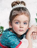 超可爱儿童圣诞节发型 清新小萝莉发型绽放精彩