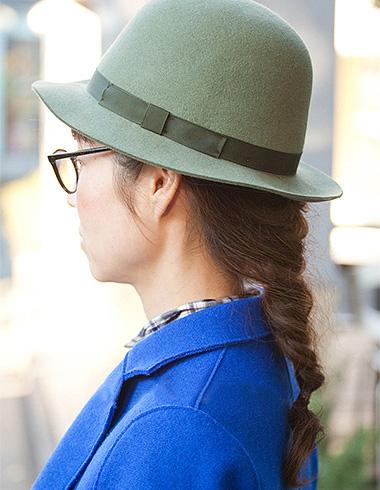 冬季日系长卷发编发 优雅显现甜美气质