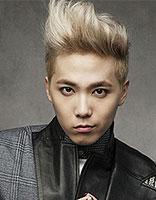 韩系时尚飞机头发型 帅气个性潮气范