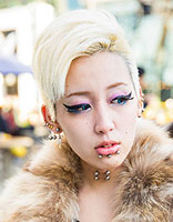 日系原宿短发发型 甜美可爱亦可帅气范