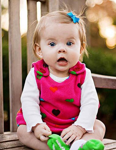 塑造婴幼儿明媚短发