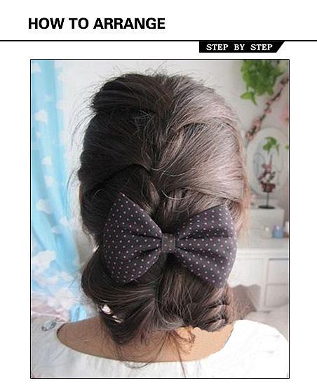 爱不释手的发型选择 纯美蝎子辫编发教程图片