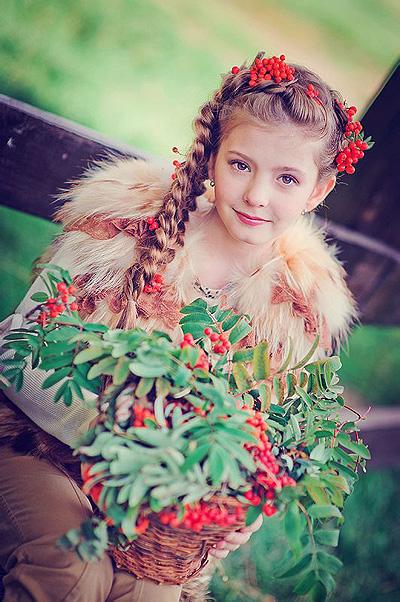 儿童发型绑扎方法图片