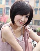 2014适合方脸的减龄短发 中年女士短发怎么做(2)_发型图片
