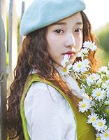 中长发蛋卷头发型图片 女生韩式蛋卷头