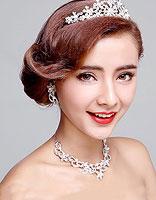 优雅新娘发型设计图 婚礼盘发抢眼抢心