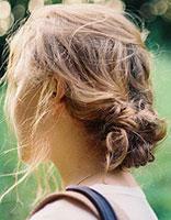气质发型选盘发 简单盘发造型图解