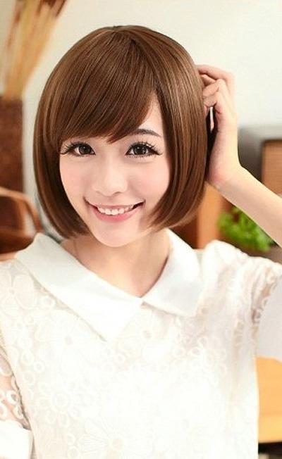 女生鹅蛋脸型短发发型大全 鹅蛋脸发型设计图片