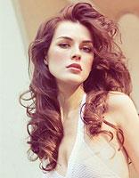 最新款新娘发型图片 新娘长卷发发型
