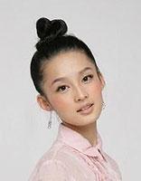 道姑头韩式发型扎法 中长头发道姑头扎法