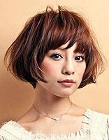 2015夏季短发最新发型 清纯女生短发发型图片