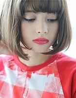 小圆脸尖头适合啥样的短发 额小圆脸适合的超短发型图片