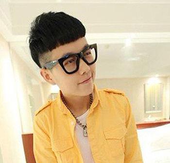2015小学生最流行的发型蘑菇头 男生蘑菇头发型