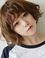脸小圆脸适合发型 小圆脸女生短发发型图片